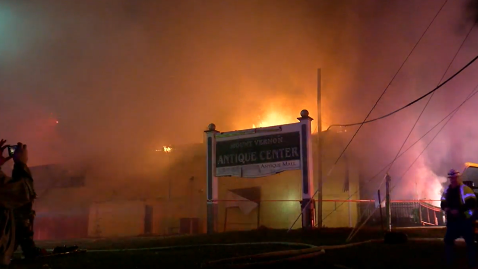 Fire Breaks Out At Large Antique Store In Fairfax County Wjla