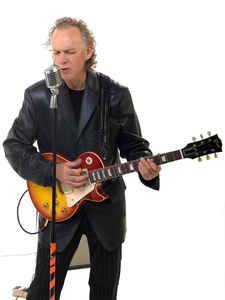 Local blues legend, Billy Lee Janey, performs at the Artisan's Sanctuary's Grand Reopening.