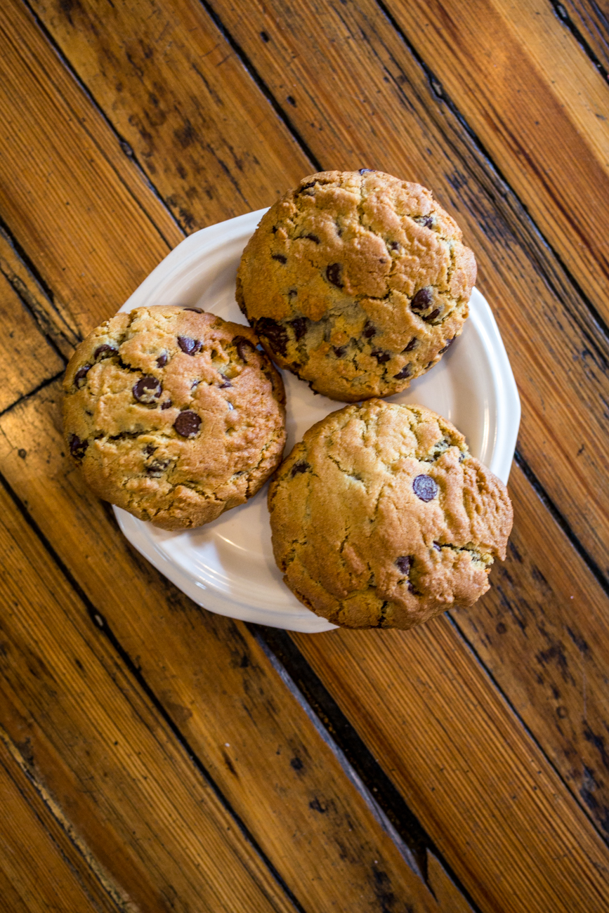 Chocolate chip cookies / Image: Catherine Viox // Published: 8.1.19