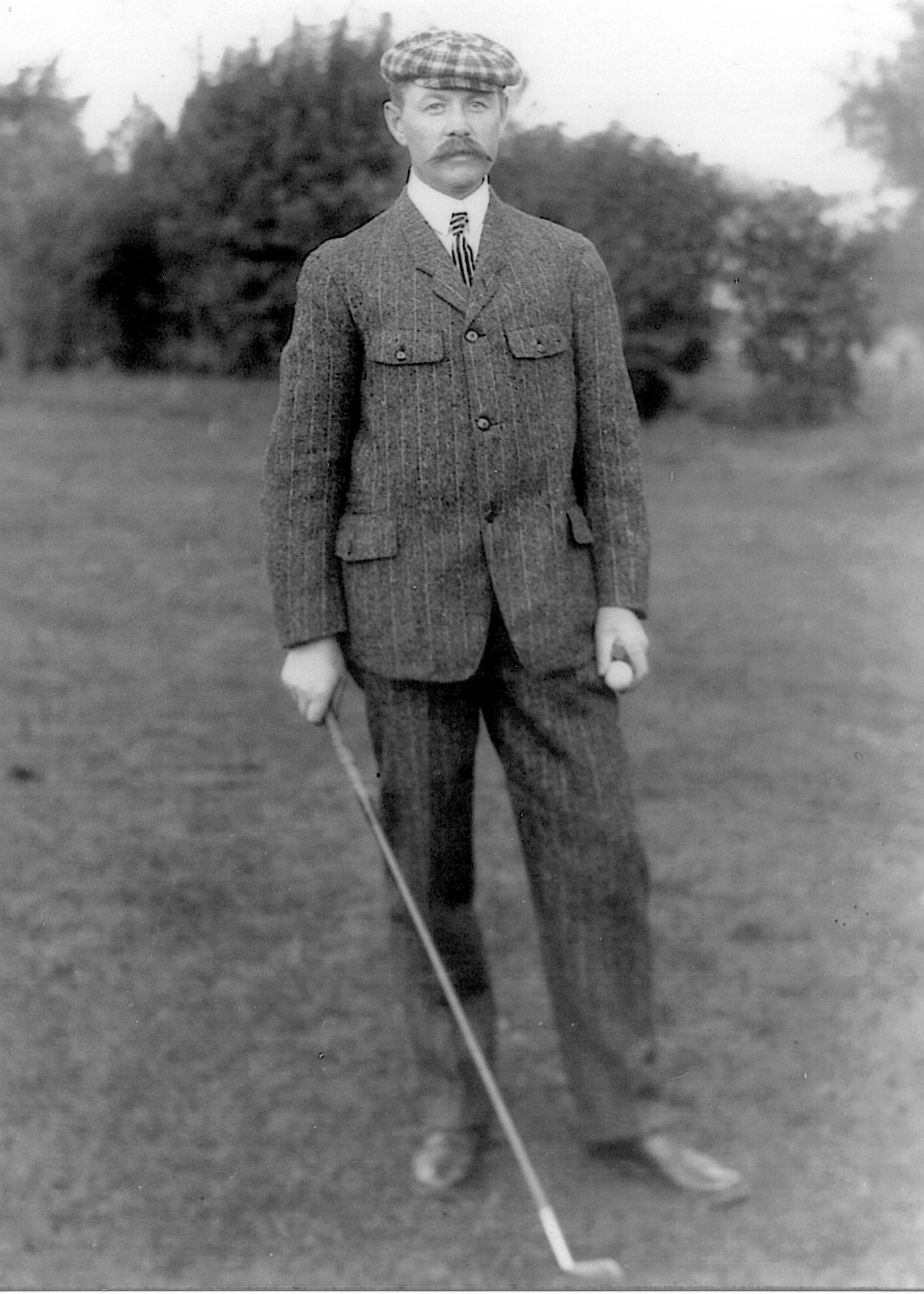 The Scottish golf course architect ,young Donald Ross.{ }(Image: Courtesy Tufts Archives)