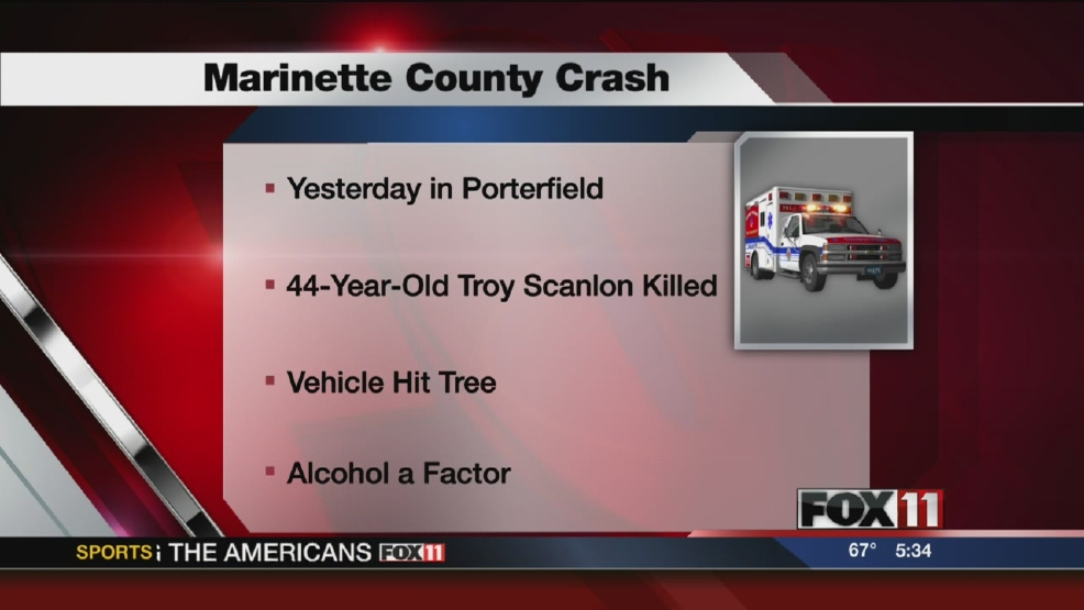 Deadly crash in Marinette County