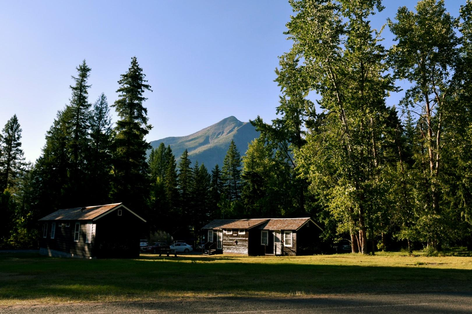 The Lake McDonald Lodge is located 10 miles inside Glacier National Park's west entrance on the Going-to-the-Sun Road. (Image: Rebecca Mongrain/Seattle Refined)