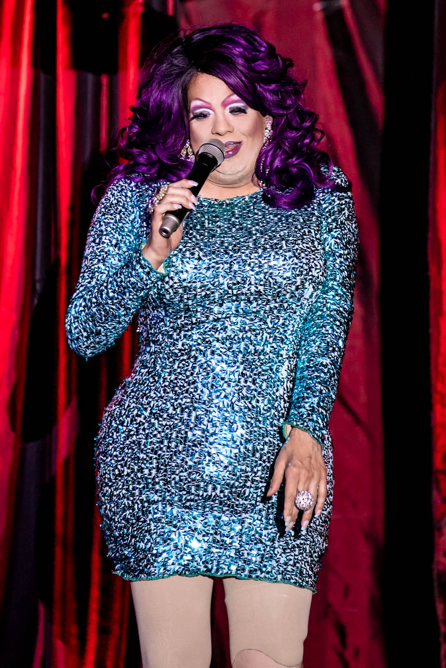 Performer and show emcee: Brooklyn Steele-Tate / The Cabaret Drag Show is every Saturday evening from 11:30 p.m. to 1 a.m. at Below Zero Lounge. ADDRESS: 1120 Walnut Street (45202) / Image: Amy Elisabeth Spasoff // Published: 6.19.18