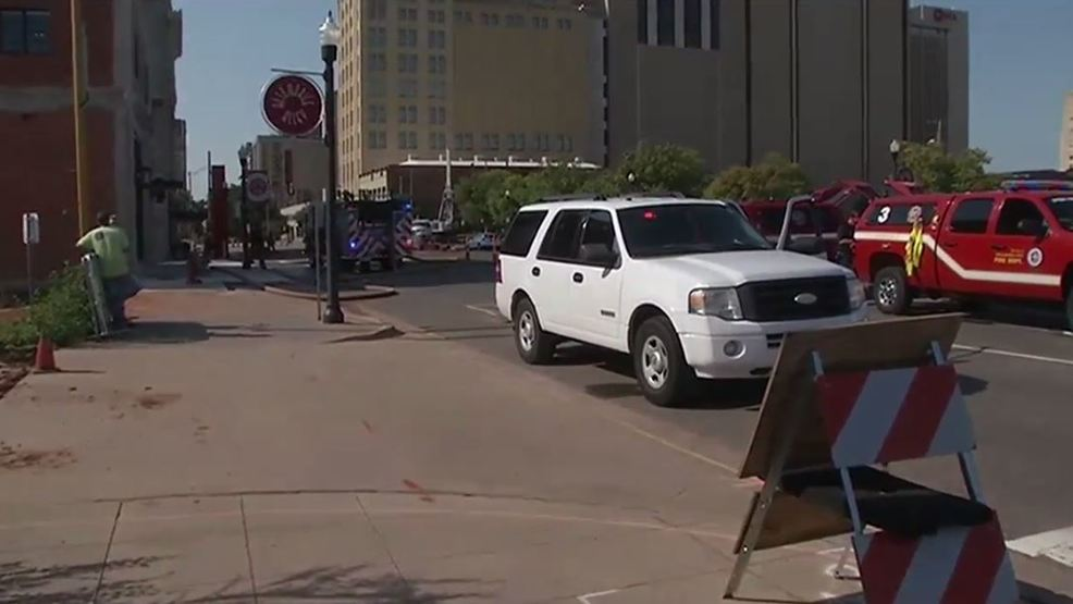 OKCFD: Buildings evacuated after natural gas line hit