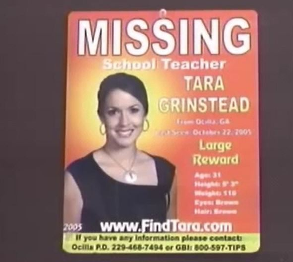 Tara Grinstead missing poster / WFXL File Photo