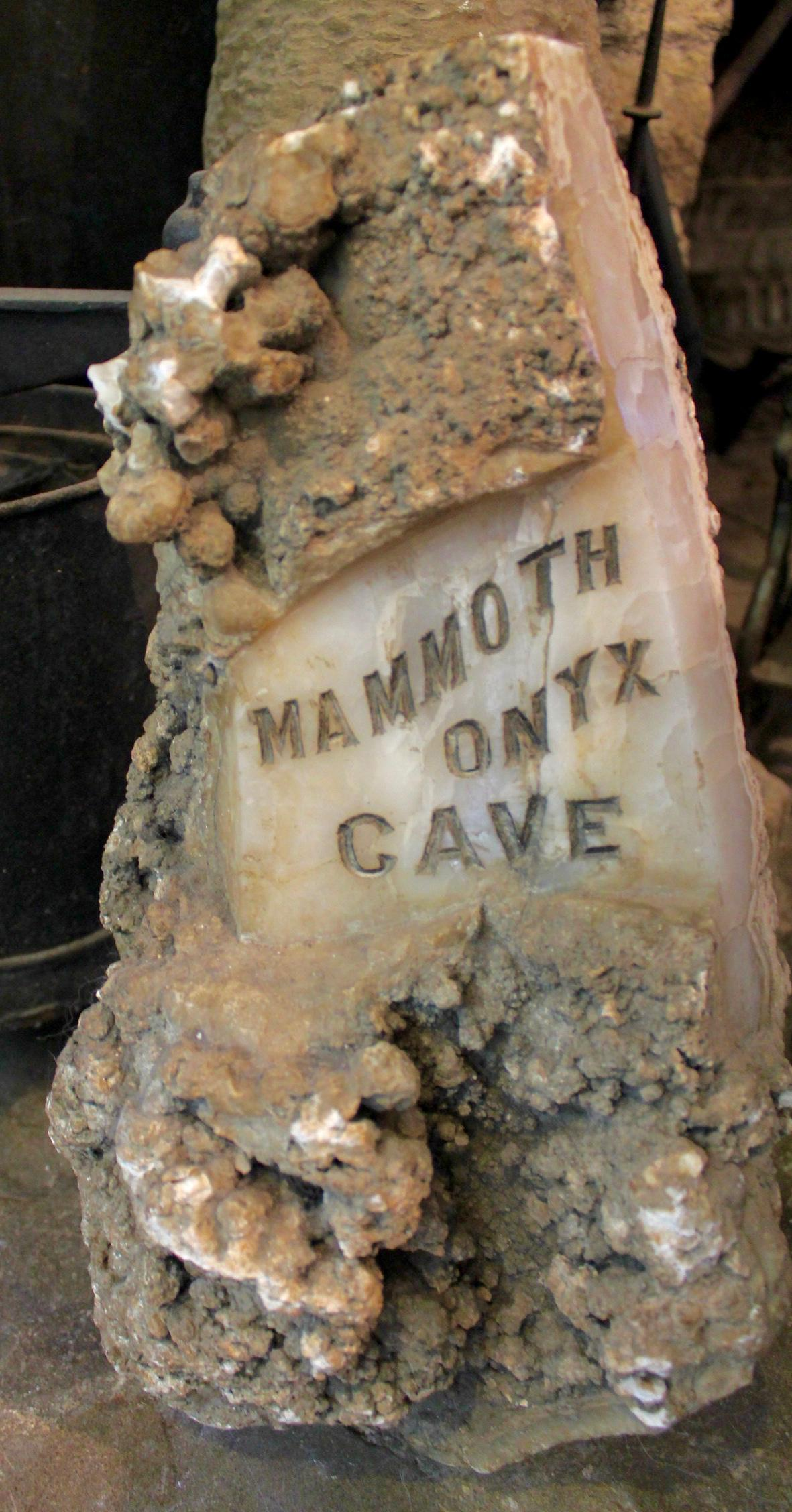Mammoth Onyx Cave was discovered in 1799 by a young girl, Martha A. Woodson, who was looking for berries when she stumbled upon the cave. When the property was purchased by Dr. H.B. Thomas, a retired dental surgeon, he began the first modernization of the trails and it was opened to the public in 1922. / Image: Rose Brewington