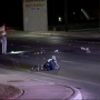 Bicyclist hit by car, driver flees