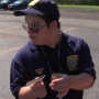 Holley teen becomes a police officer for a day