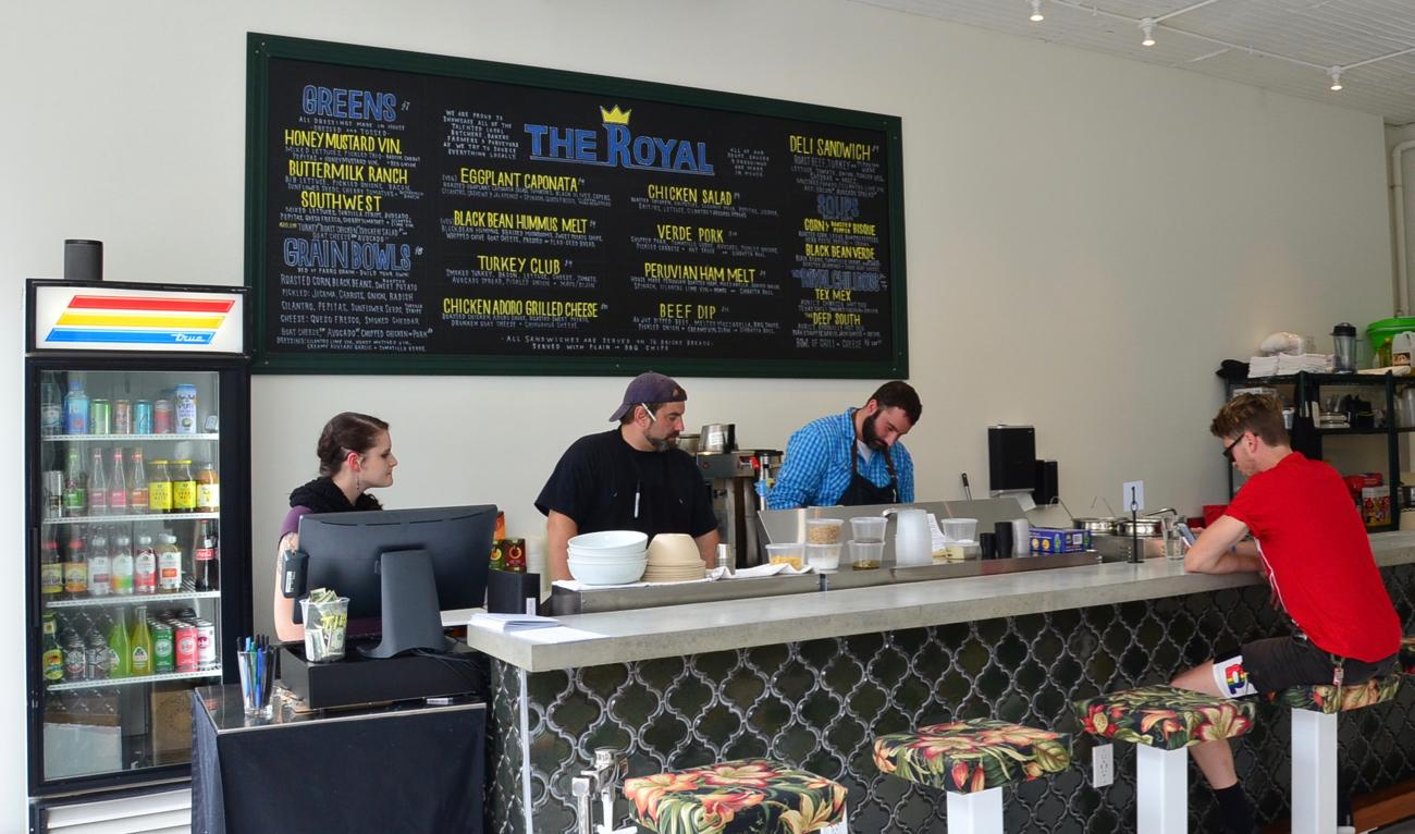 The Royal is a new sandwich/salad shop on Main Street in OTR that just opened this month. The menu is comprised of locally-sourced ingredients. It's owned by the folks behind Liberty's Bar and  Bottle Shop which is just up the street. ADDRESS: 1200 Main Street 45202 / HOURS: Monday - Saturday, 11am to 7pm / Image: Leah Zipperstein, Cincinnati Refined // Published: 9.25.17