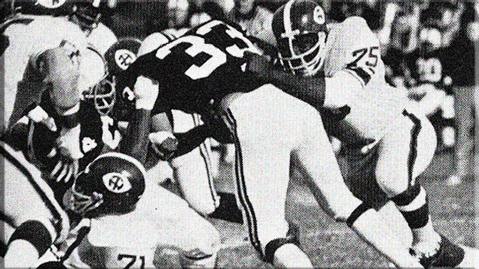 Joe Greene, who played three seasons for North Texas at defensive tackle, led a defense the held opponents to less than 2 yards per carry during his career. (Photo courtesy of University of North Texas Archives)