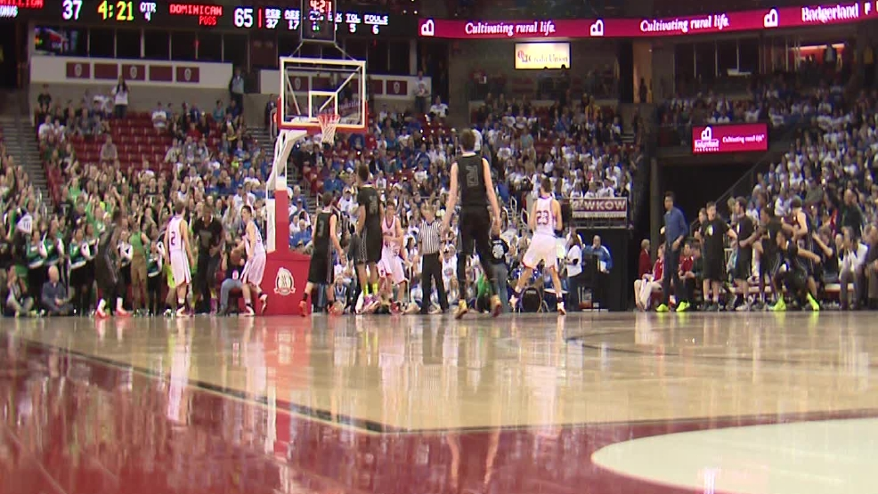 WIAA state basketball tournament highlight video