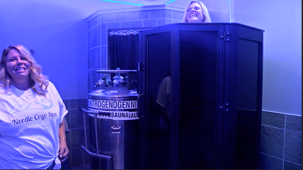 Freeze yourself to health' at the Nordic Cryo Spa | WCTI