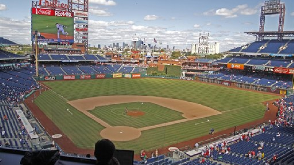Citizens Bank Park, Sunday, Sept. 22, 2013, in Philadelphia.  (AP Photo/H. Rumph Jr)