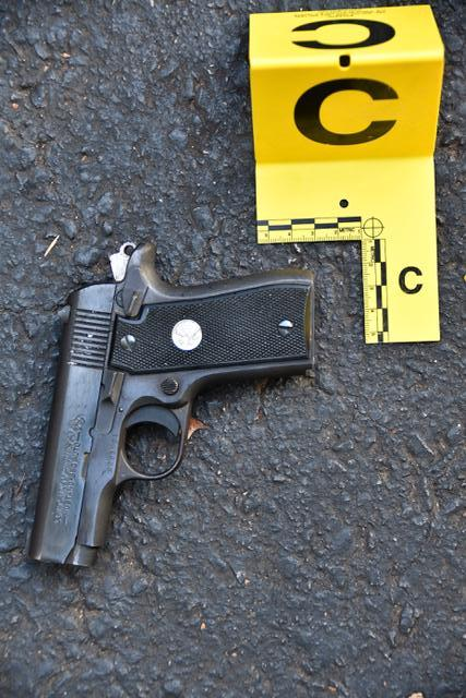 The gun police say was in Keith Lamont Scott's possession at the time of the shooting. (Charlotte-Mecklenburg Police Department)
