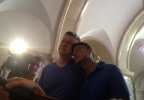 Matt and Jose are the first same-sex marriage in Milwaukee County on Friday, June 6, 2014. (WITI FOX 6/Ashley Sears)