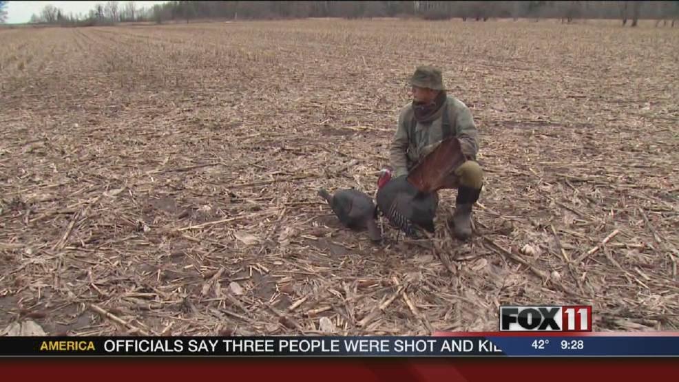 Young turkey hunters give back