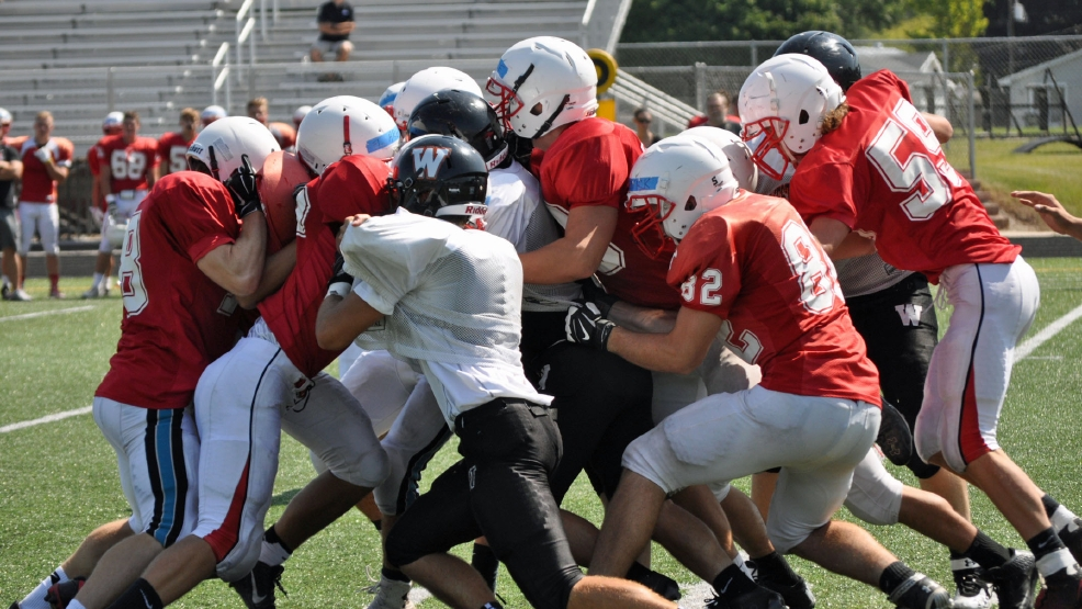 Kimberly traveled to West De Pere for a scrimmage on Friday. (Doug Ritchay/WLUK)