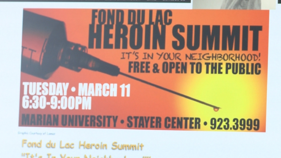 Fond du Lac County addressing heroin problem