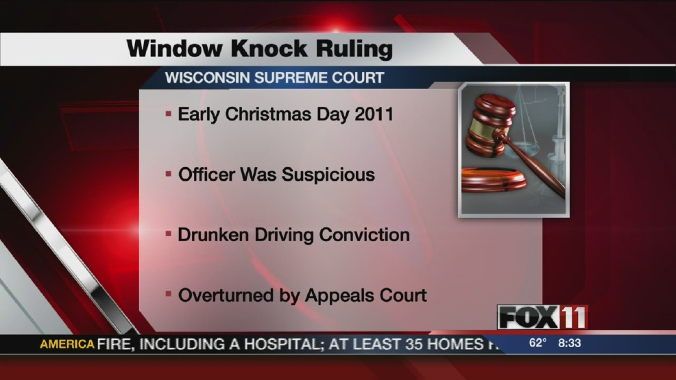 Supreme Court window knock ruling