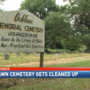 Cleanup underway at Mobile's Oaklawn Cemetery