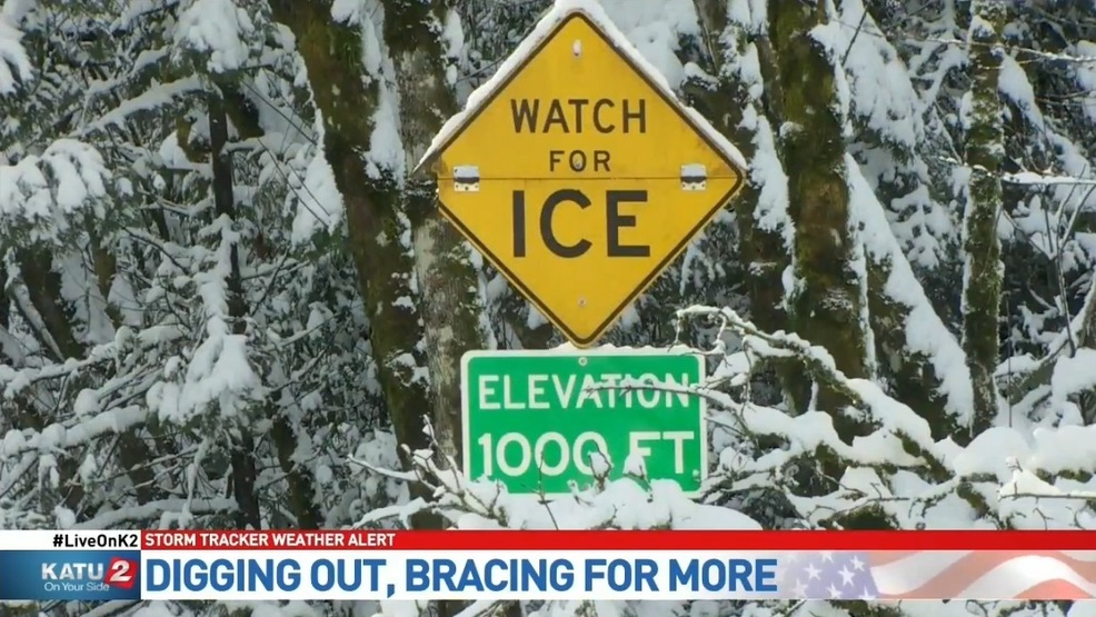 Portland digs out of snow, prepares for more Thursday