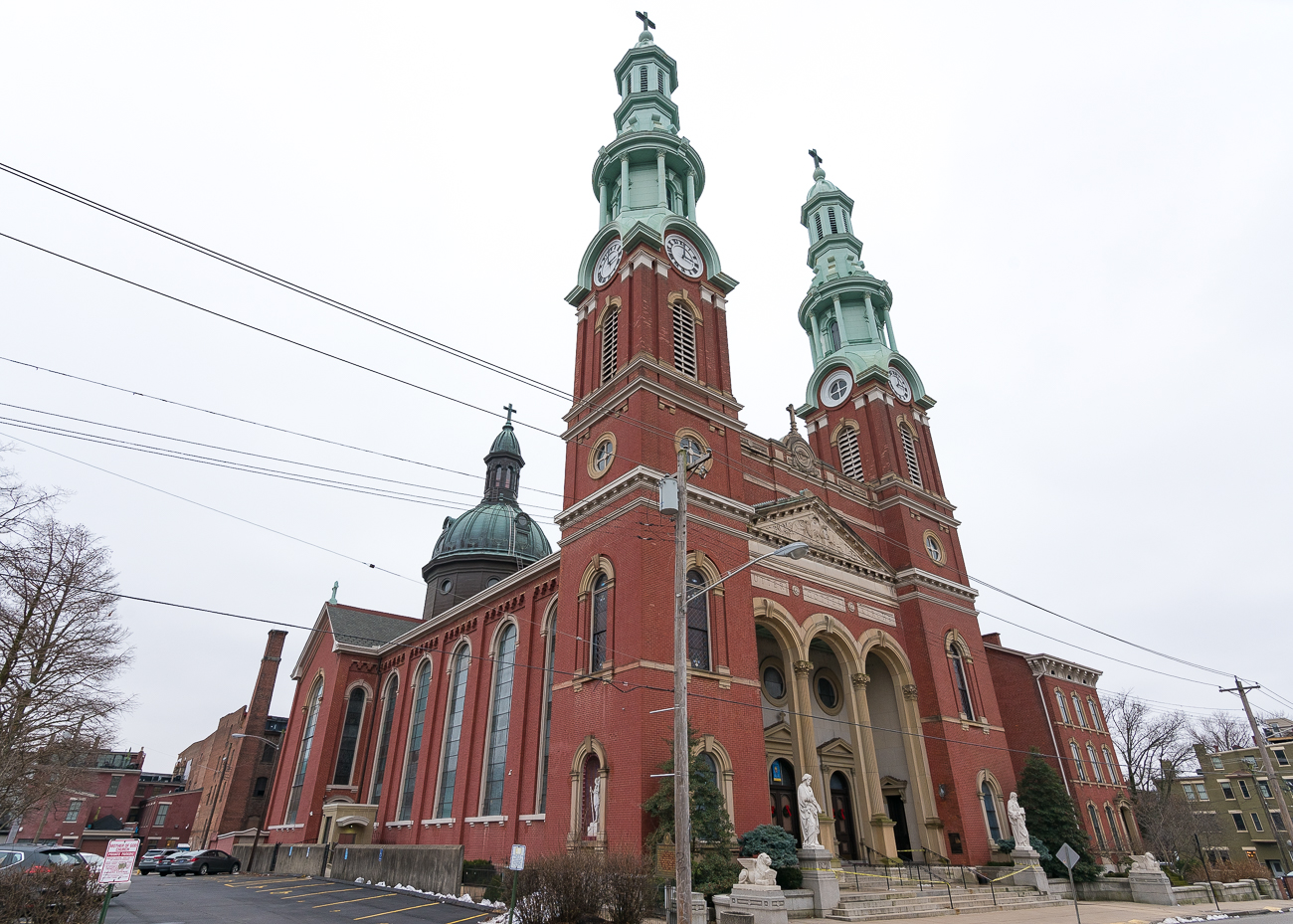 ANSWER: Mother of God Roman Catholic Church at 119 W. 6th Street in Covington. It opened in 1869. / Image: Phil Armstrong, Cincinnati Refined // Published: 1.19.19