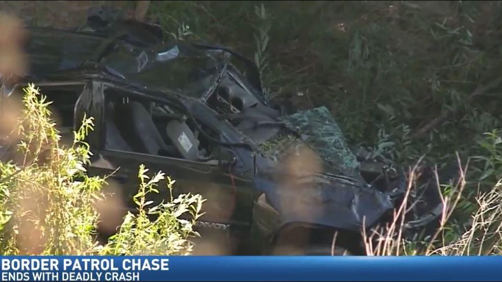 3 die after San Diego crash during Border Patrol chase | KMPH
