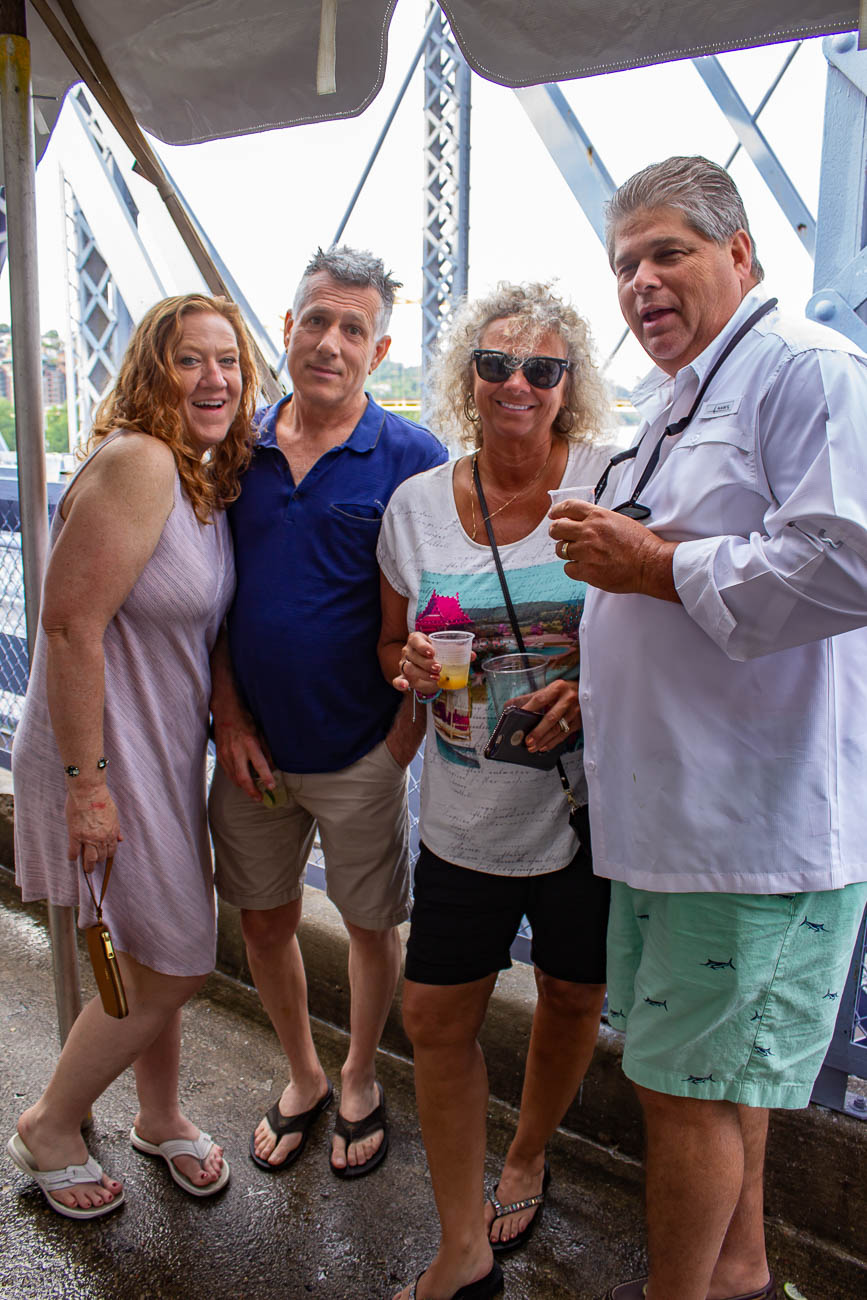 Mary Bredburn, Jimmy Wilson, and Gina & Ed Miller{ }/ Image: Katie Robinson, Cincinnati Refined // Published: 5.24.19