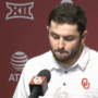 Baker Mayfield makes tearful apology during news conference