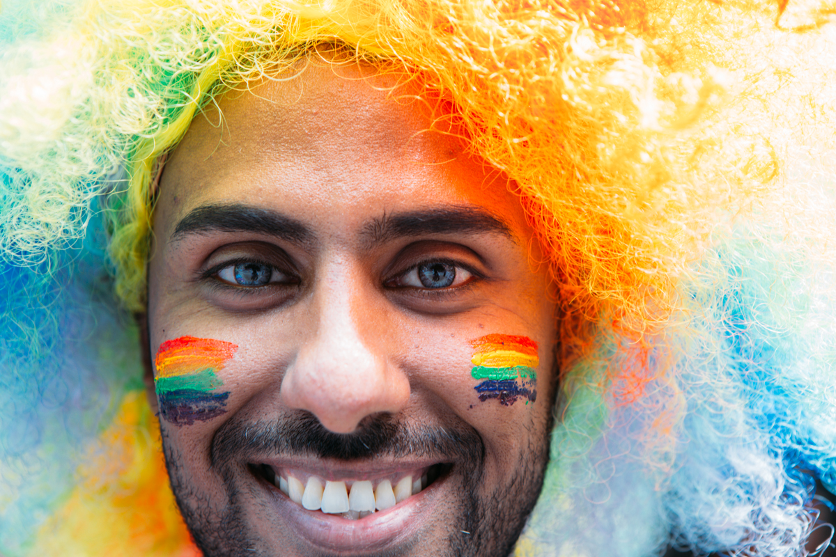 The 40th Annual Pride Parade brought out hundreds of thousands of people to Downtown Seattle. People show their pride and support in different ways and we captured some of the unique ways people did. June 29th 2014. (Joshua Lewis / Seattle Refined)