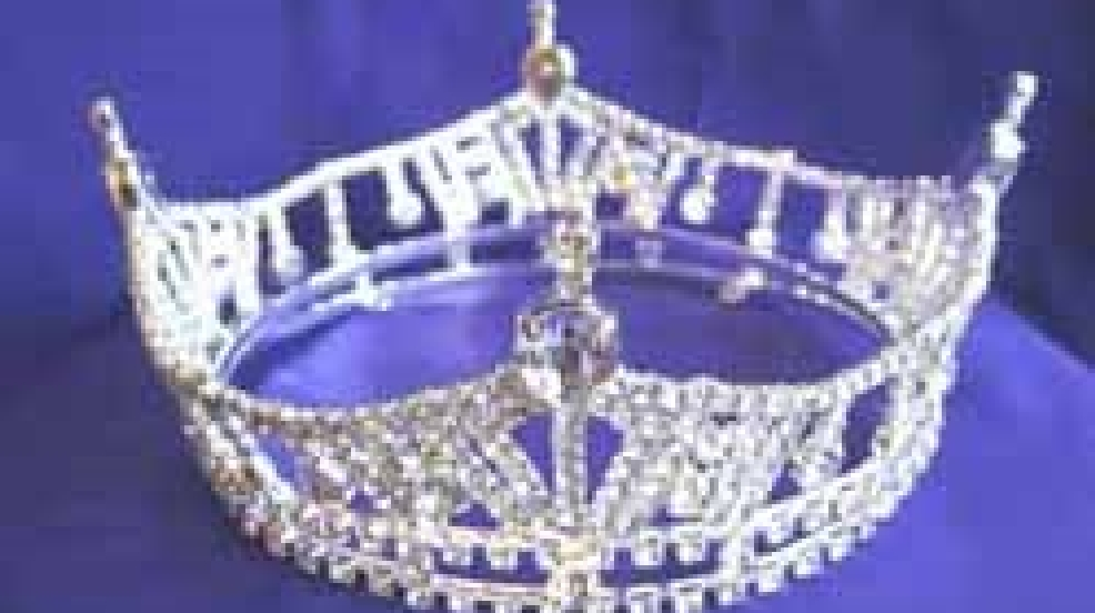 Miss Wisconsin crown.