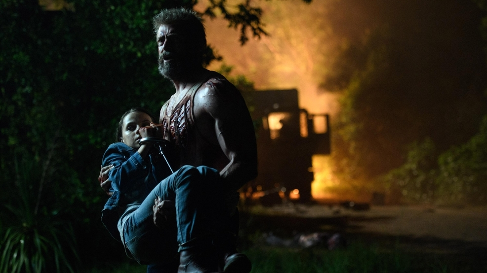 Jackman and Mangold's 'Logan' sends Wolverine out at number 1