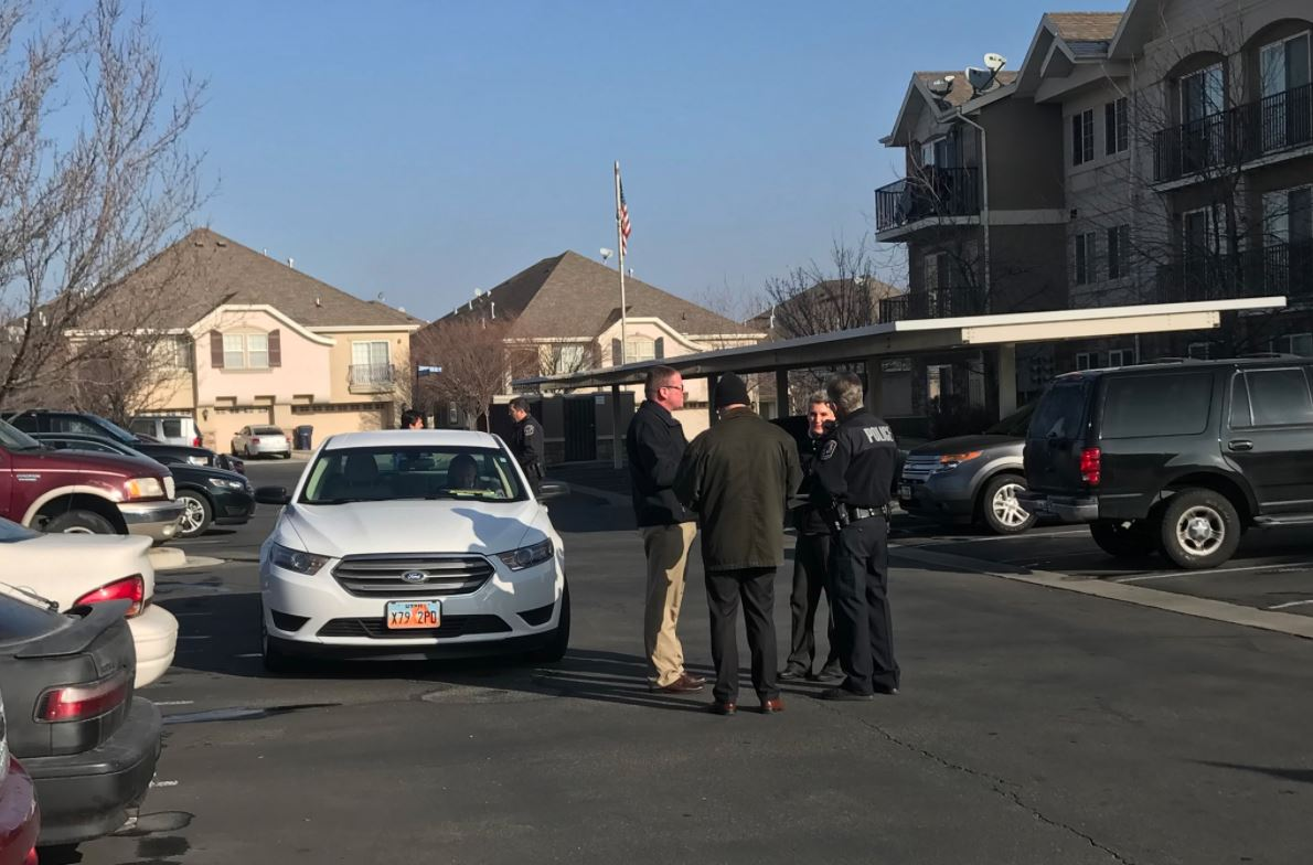Possible child abduction in West Jordan. (Photo: Jeremy Harris)<p></p>