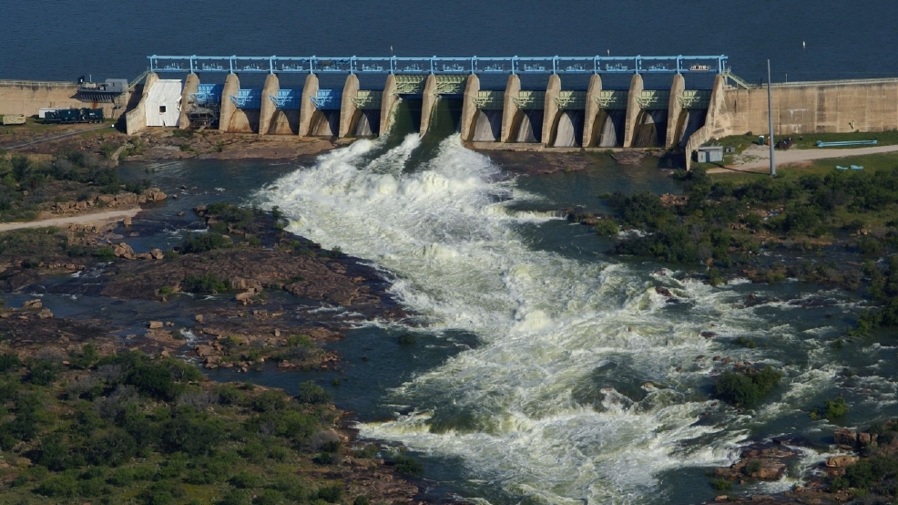 Photos Floodgates Open At Highland Lakes Keye