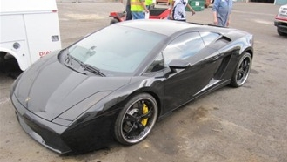 Drug Trafficker S Seized Lamborghini Up For Public Auction Krnv