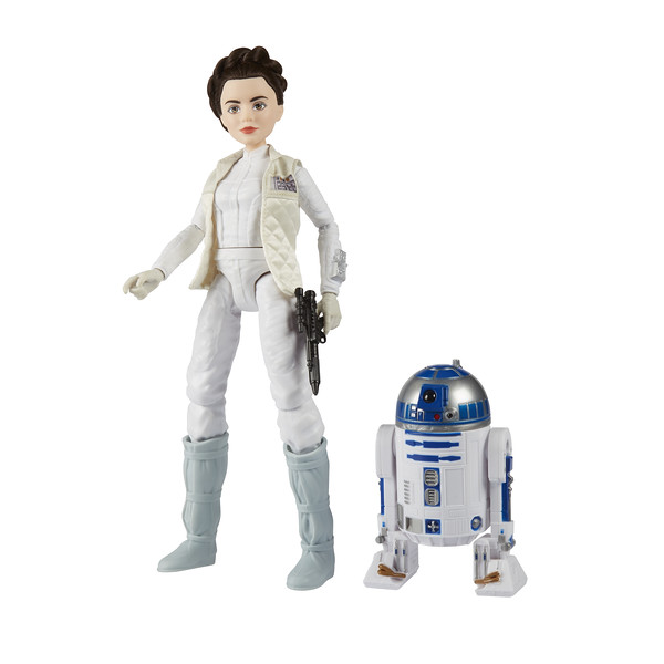 STAR WARS FORCES OF DESTINY ADVENTURE: Leia & R2-D2 (Photo: Hasbro)
