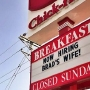 Chick-fil-A sign goes viral after saying restaurant is 'Now Hiring Brad's Wife'