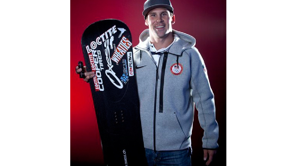 United States Olympic Winter Games Snowboarder Nick Baumgartner poses for a portrait at the 2013 Team USA Media Summit on Monday, October 2, 2013 in Park City, UT. (AP Photo/Carlo Allegri)