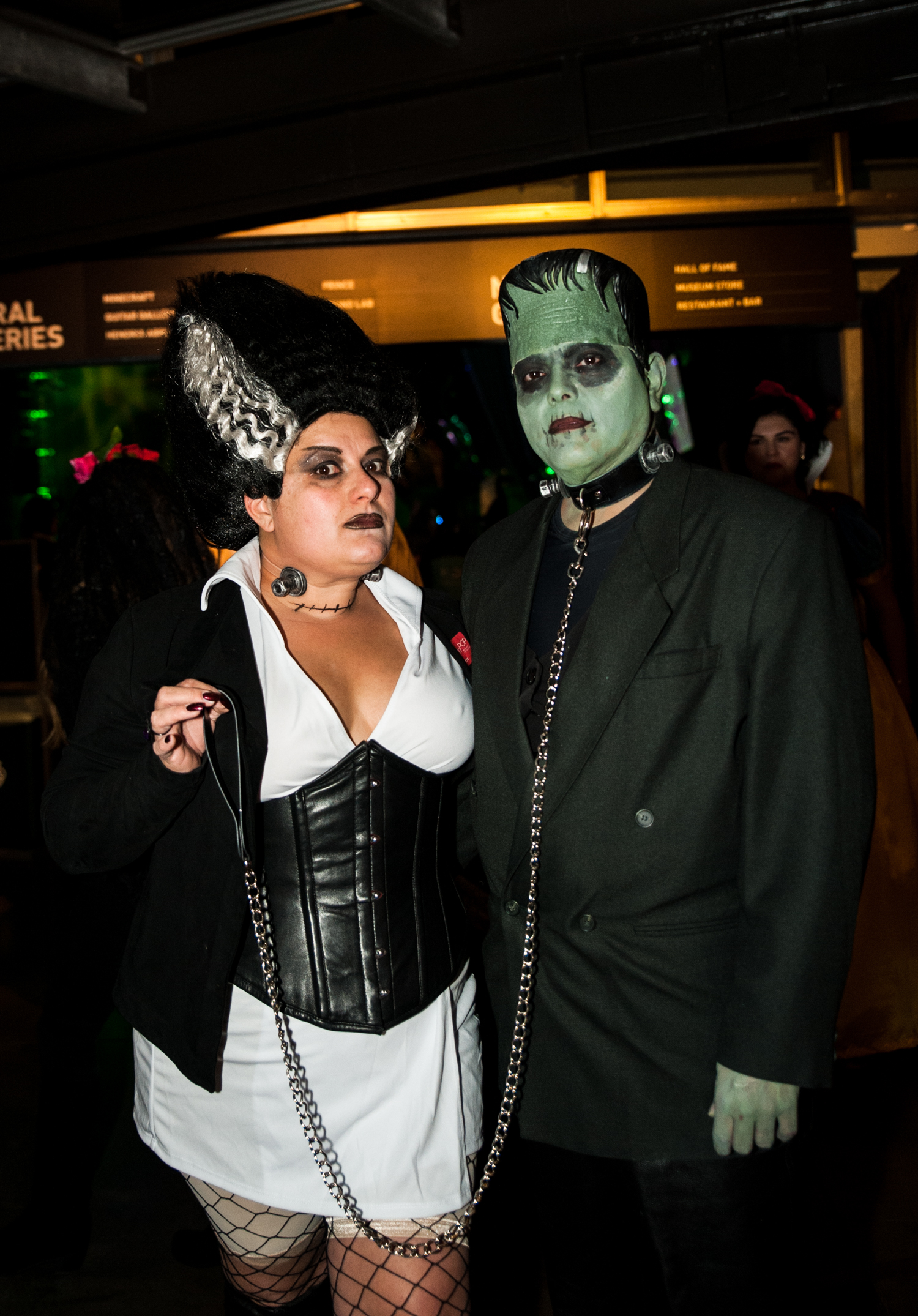 For the 9th year in a row, Seattle's Museum of Pop Culture (MoPOP) threw their epic Halloween party, where attendees came dressed to impress (err, terrify?). The 21+ event included a costume contest with a $750 cash prize from Champion's Party Supply, a Scared to Death puzzle-solving exhibition, spooky DJ, horror film series, and an interactive science fair to make all your evil scientist nightmares come true. (Image: Elizabeth Crook / Seattle Refined)