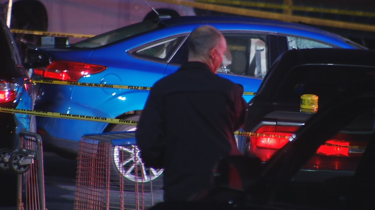 Very few details are known Friday morning about the officer-involved shooting that happened Thursday night in Hendersonville. (Photo credit: WLOS Staff)