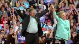 Hillary Clinton appears in Miami with VP pick Tim Kaine