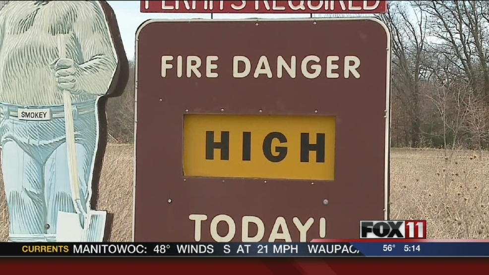 DNR warns of fire danger