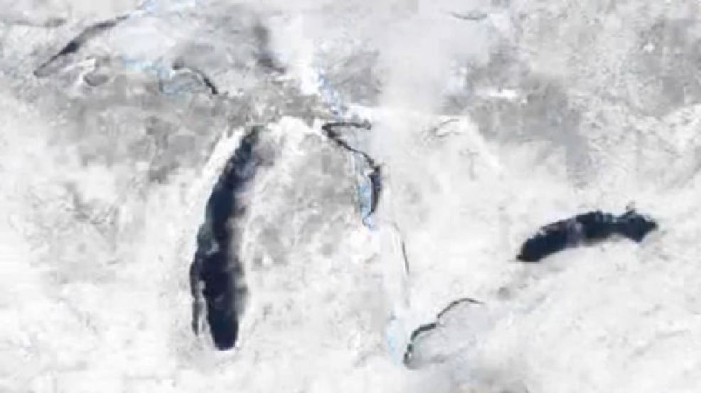 Thumbnail for Feb. 13, 2014 Great Lakes ice story
