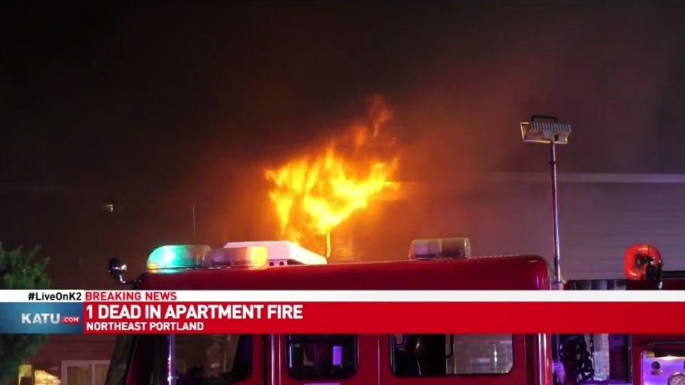 One Dead In NE Portland Apartment Fire