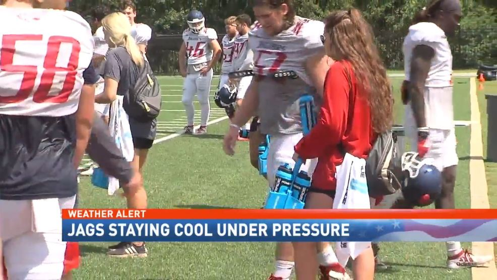 (WPMI) South Alabama Jags staying cool under pressure