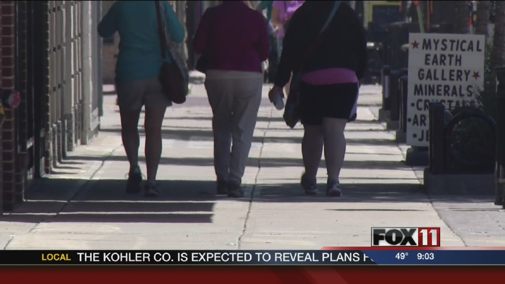 Green Bay area reacts to obesity survey