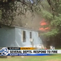 Several departments respond to Elkhart County house fire