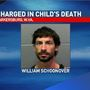 Parkersburg man charged in death of 1-year-old