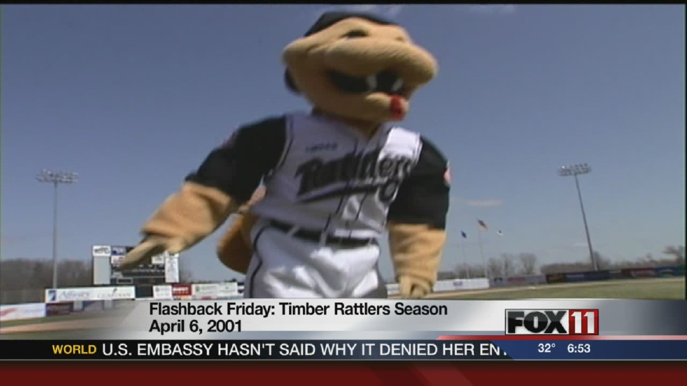 Fang, Timber Rattlers mascot