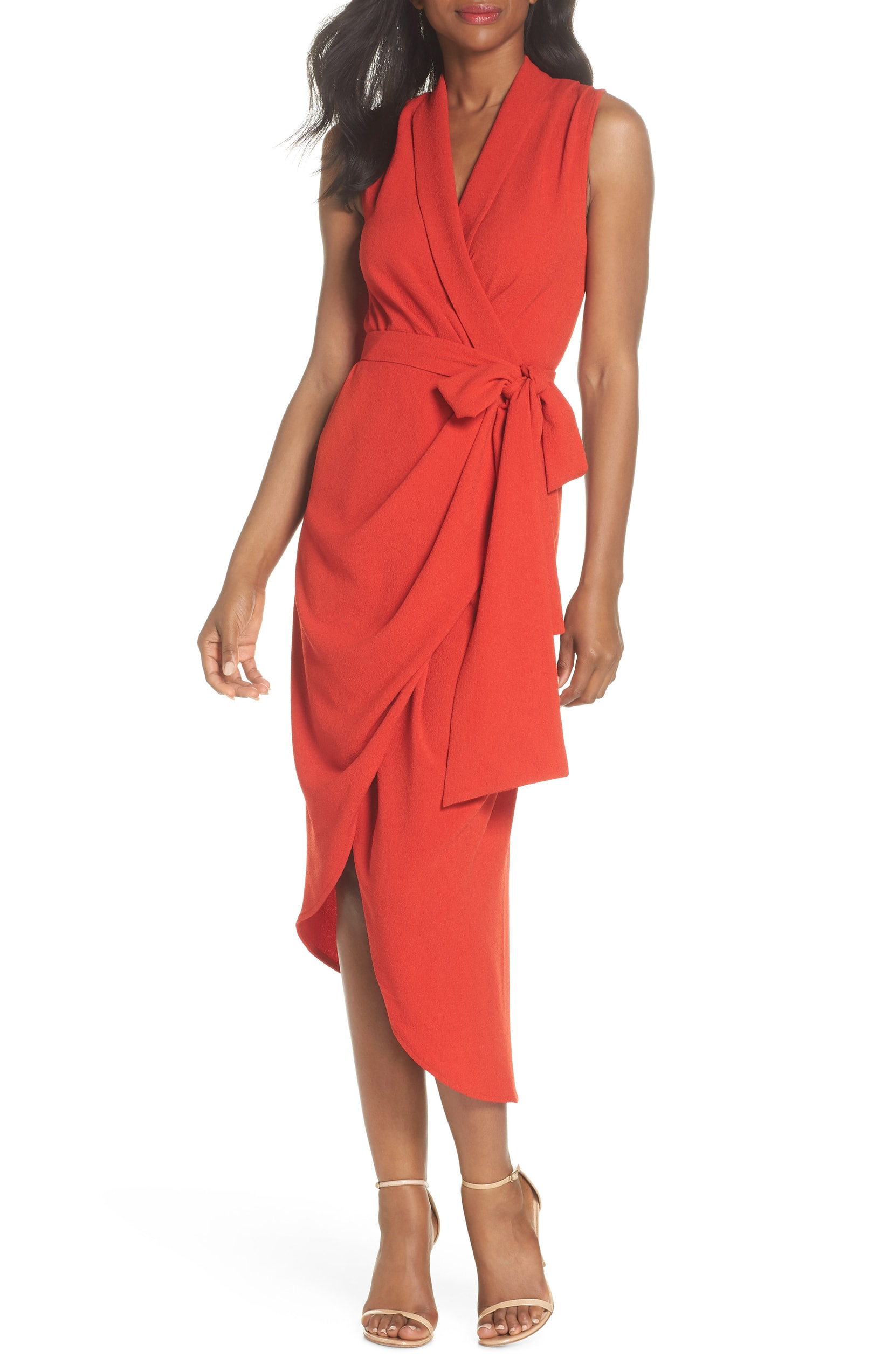 The Trend: RED. It's all about red this Fall.{ } All red everythang! Use red as a statement color to make basics POP. Red accessories are also where its at.{ }C/MEO COLLECTIVE - $185.00. (Image: Nordstrom){ }